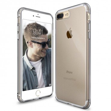 """Tok Ringke """"Air"""" iPhone 8 Plus / iPhone 7 Plus készülékekhez - smoke black"""