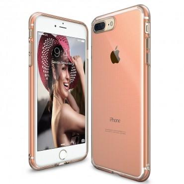 """Ringke """"Air"""" védőtok iPhone 8 Plus / iPhone 7 Plus készülékekhez – rose gold crystal"""