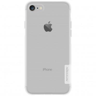 """Vékony """"Nature"""" prémium védőtok iPhone 8 / iPhone 7 készülékekhez - átlátszó"""