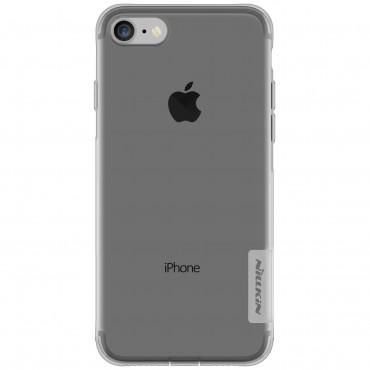 """Vékony """"Nature"""" prémium védőtok iPhone 8 / iPhone 7 készülékekhez - szürke"""