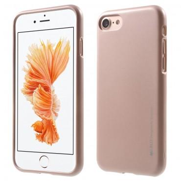 Goospery iJelly Case TPU géles védőtok iPhone 8 Plus / iPhone 7 Plus készülékekhez – rózsaszín
