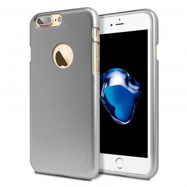 Goospery iJelly Case Logo TPU géles védőtok iPhone 8 Plus / iPhone 7 Plus készülékekhez – szürke