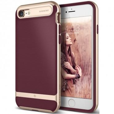 Caseology Wavelength Series védőtok iPhone 7 telefonokhoz – burgundy red