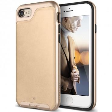 Caseology Envoy Series védőtok iPhone 7 telefonokhoz – leather beige