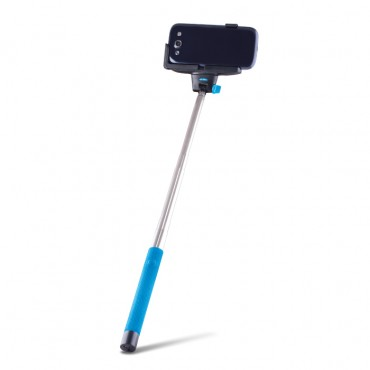 """Összecsukható Bluetooth szelfibot """"Quick Snap"""" mobil készülékekhez – kék"""