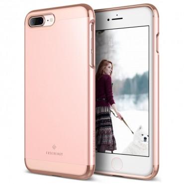 Caseology Savoy Series védőtok iPhone 7 Plus készülékekhez – rose gold