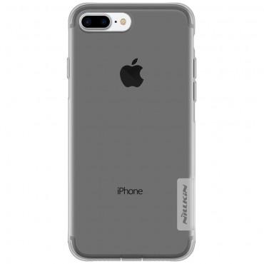 """Prémium vékony tok """"Nature"""" iPhone 8 Plus / iPhone 7 Plus készülékekhez - szürke"""