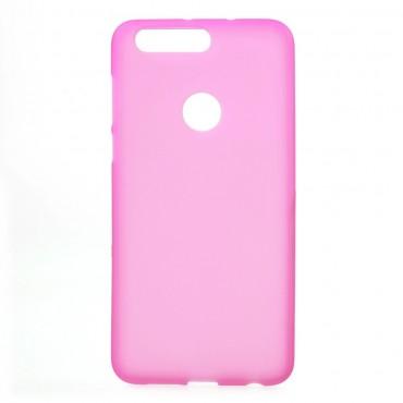 TPU gél tok Huawei Honor 8 készülékekhez - rózsaszín