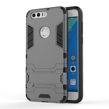 """Strapabíró """"Impact X"""" védőtok Huawei Honor 8 készülékekhez – szürke"""