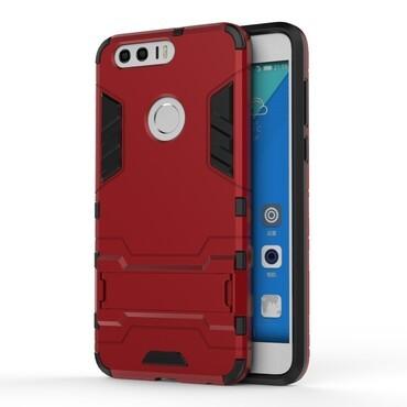 """Strapabíró """"Impact X"""" védőtok Huawei Honor 8 készülékekhez – piros"""