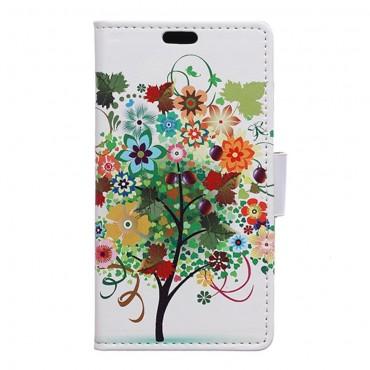"""Divatos """"Tree Of Dreams 1"""" tárca Huawei Honor 8 készülékekhez"""