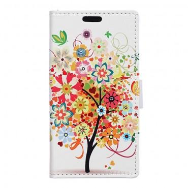 """Divatos """"Tree Of Dreams 2"""" tárca Huawei Honor 8 készülékekhez"""