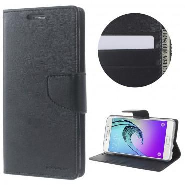 Goospery Bravo Diary tárca Samsung Galaxy A5 2016 készülékekhez – fekete