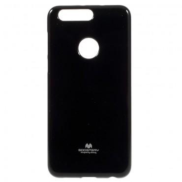 TPU géles Goospery Jelly Case védőtok Huawei Honor 8 készülékekhez – fekete