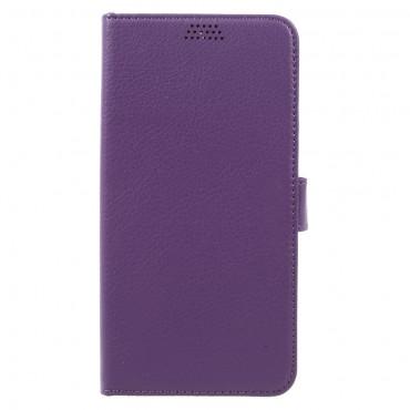 """Elegáns """"Litchi"""" tárca Huawei Mate 9 készülékekhez – lila"""