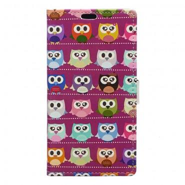 """Divatos """"Mr. Owl Multi"""" tárca Huawei Mate 9 készülékekhez"""