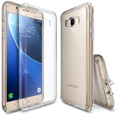 """Ringke """"Fusion"""" védőtok Samsung Galaxy J7 2016 készülékekhez - crystal clear"""
