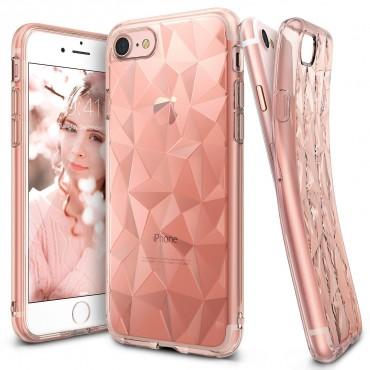 "Ringke ""Air Prism"" borító iPhone 8 / iPhone 7 telefonokhoz - rose gold"