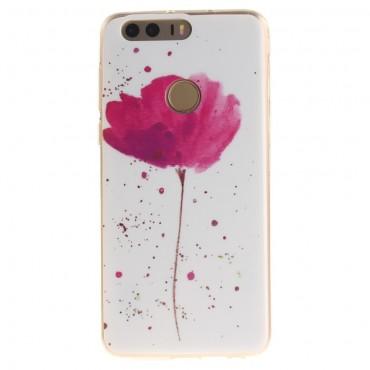 Flower Dust TPU géles védőtok Huawei Honor 8 készülékekhez