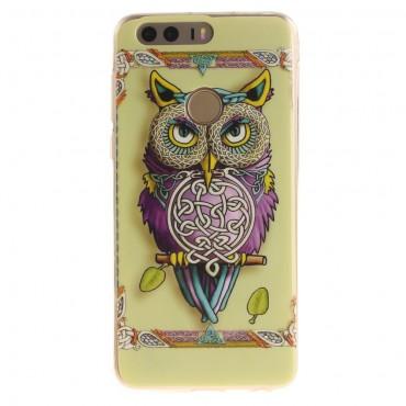 Tribal Owl TPU géles védőtok Huawei Honor 8 készülékekhez