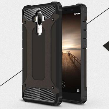 """Strapabíró """"Rock"""" védőtok Huawei Mate 9 készülékekhez – fekete"""