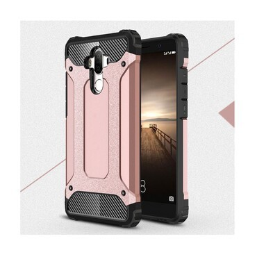 """Strapabíró """"Rock"""" védőtok Huawei Mate 9 készülékekhez – rózsaszín"""