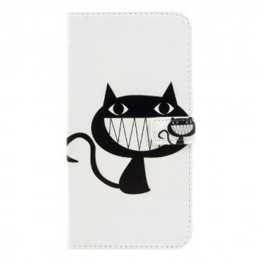 "Divatos ""Smiling Cat"" tárca Huawei Mate 9 készülékekhez"