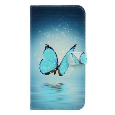 """Divatos """"Water Butterfly"""" tárca Huawei Mate 9 készülékekhez"""