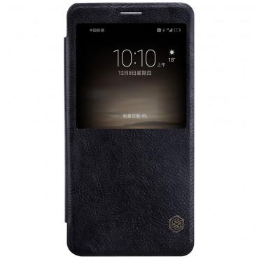 """Elegáns nyitható tok """"Qin Smart""""  Huawei Mate 9 készülékekhez - fekete"""