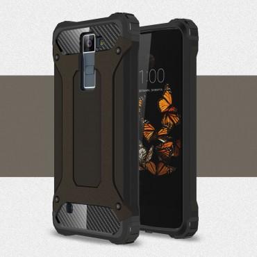 """Strapabíró """"Rock"""" védőtok LG K8 készülékekhez – fekete"""