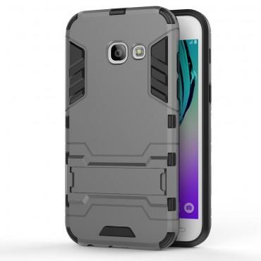"""Strapabíró """"Impact X"""" védőtok Samsung Galaxy A3 2017 készülékekhez – szürke"""