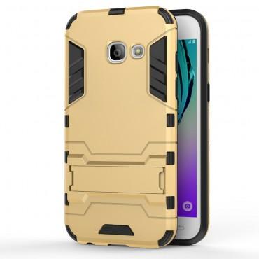 """Strapabíró """"Impact X"""" védőtok Samsung Galaxy A3 2017 készülékekhez – aranyszínű"""