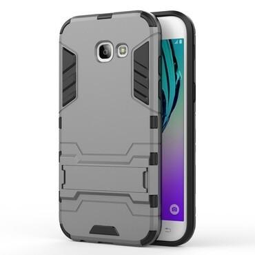 """Strapabíró """"Impact X"""" védőtok Samsung Galaxy A5 2017 készülékekhez – szürke"""