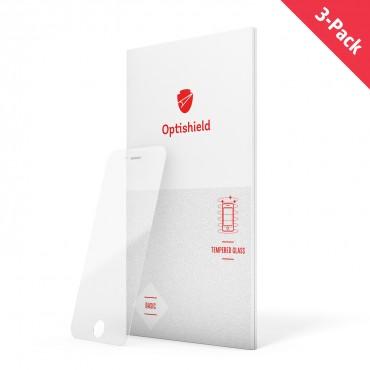 3-Pack Optishield védőüveg iPhone 8 / iPhone 7 telefonhoz