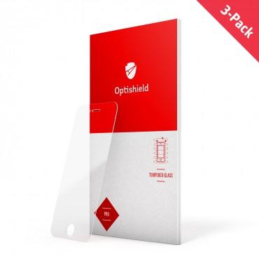 3-Pack prémium Optishield Pro üvegfólia LG K10 készülékekhez