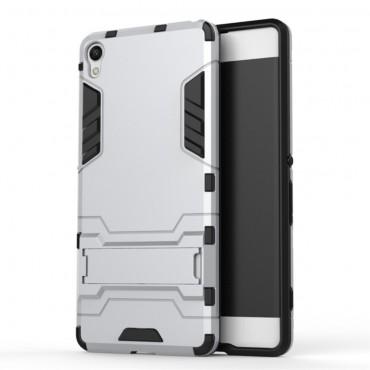 """Strapabíró """"Impact X"""" védőtok Sony Xperia XA készülékekhez – ezüstszínű"""
