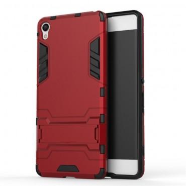"""Strapabíró """"Impact X"""" védőtok Sony Xperia XA készülékekhez – piros"""