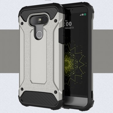 """Strapabíró """"Rock"""" védőtok LG G5 készülékekhez – szürke"""