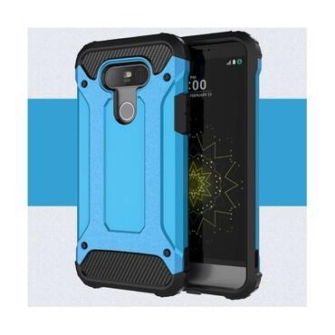 """Strapabíró """"Rock"""" védőtok LG G5 készülékekhez – kék"""