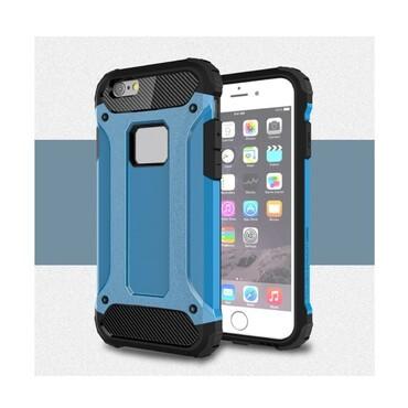 """Strapabíró tok """"Rock"""" iPhone 6 / 6S készülékekhez - kék"""