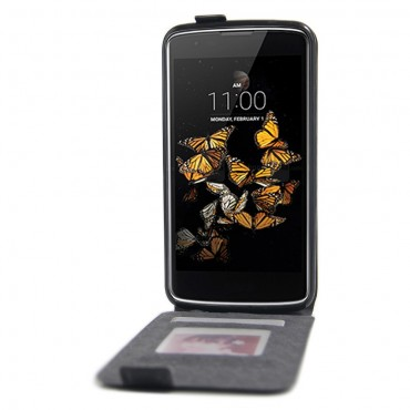 Divatos flip tárca LG K8 készülékekhez