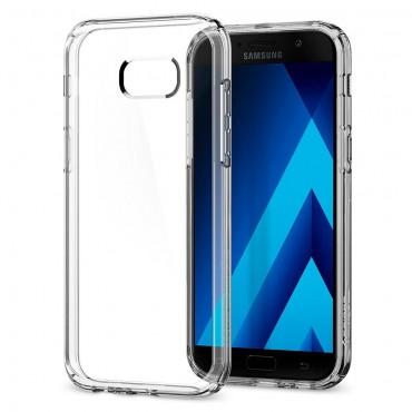 """Spigen """"Ultra Hybrid"""" védőtok Samsung Galaxy A5 2017 készülékhez - crystal clear"""