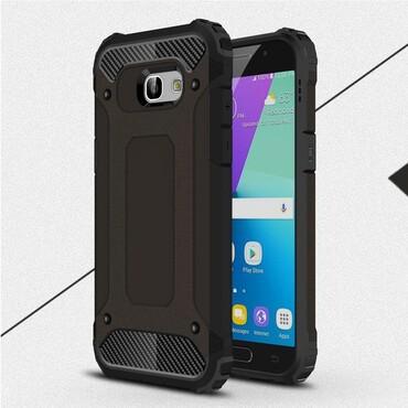 """Strapabíró """"Rock"""" védőtok Samsung Galaxy A5 2017 készülékekhez – fekete"""