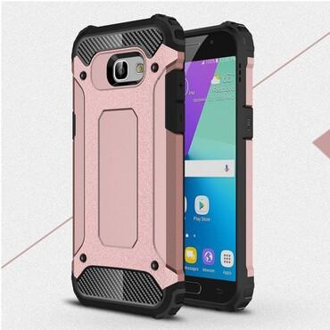 """Strapabíró """"Rock"""" védőtok Samsung Galaxy A5 2017 készülékekhez – rózsaszín"""