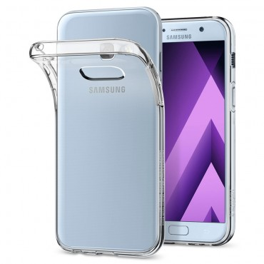 """Spigen """"Liquid Crystal"""" védőtok Samsung Galaxy A3 2017 készülékekhez"""