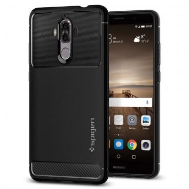 """Spigen """"Rugged Armor"""" védőtok Huawei Mate 9 készülékekhez – fekete"""