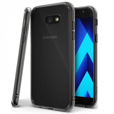 """Ringke """"Fusion"""" védőtok Samsung Galaxy A5 2017 készülékekhez - smoke black"""