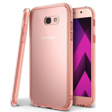 """Ringke """"Fusion"""" védőtok Samsung Galaxy A3 2017 készülékekhez - rose gold"""