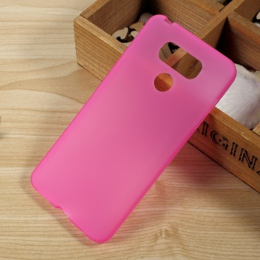 TPU gél tok LG G6 készülékekhez - rózsaszín
