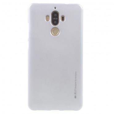 Goospery iJelly Case TPU géles védőtok Huawei Mate 9 készülékekhez – ezüstszínű